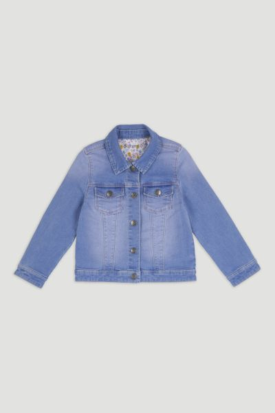 Mid Wash Blue Denim Jacket