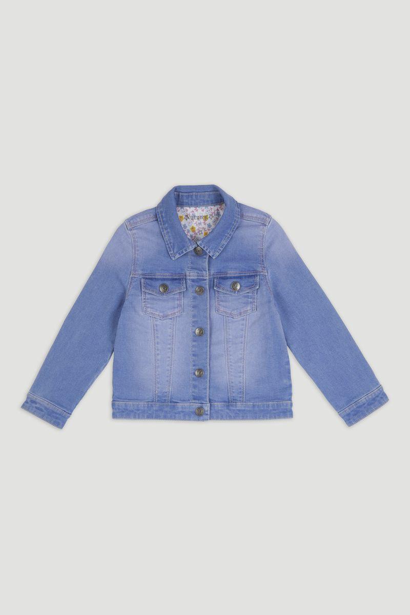 Mid Wash Blue Denim Jacket