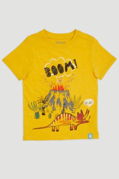 Volcano Print T-Shirt