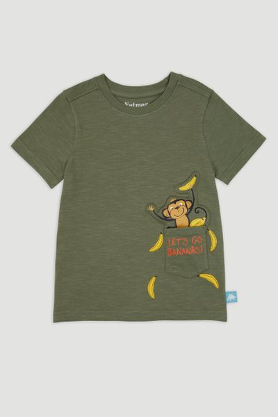 Khaki Monkey T-Shirt