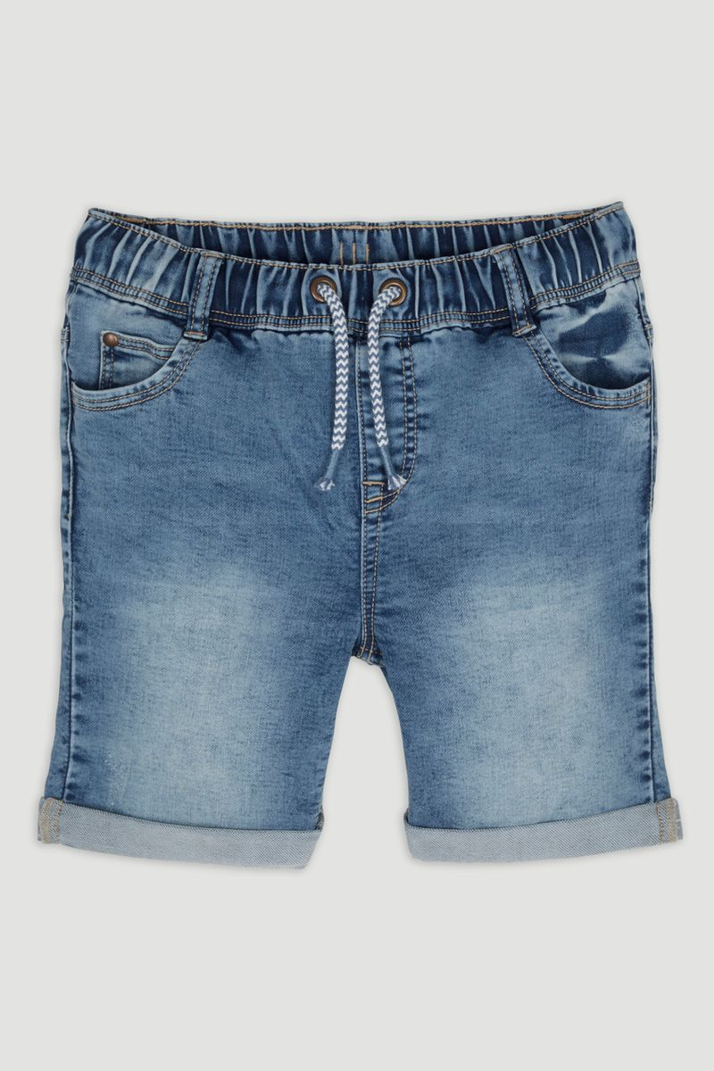 Light Wash Denim Shorts 1-14yrs