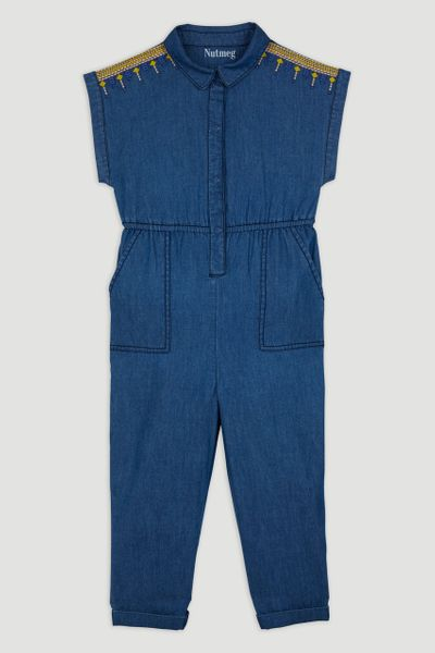 Denim Boiler Jumpsuit