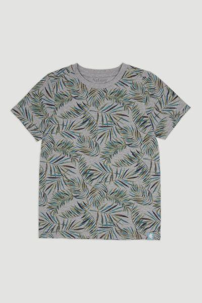 AOP Leaf Print T-Shirt