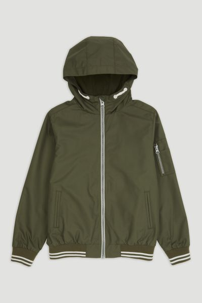 Khaki Bomber Jacket 1-14yrs