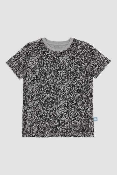 Grey Zebra T-Shirt