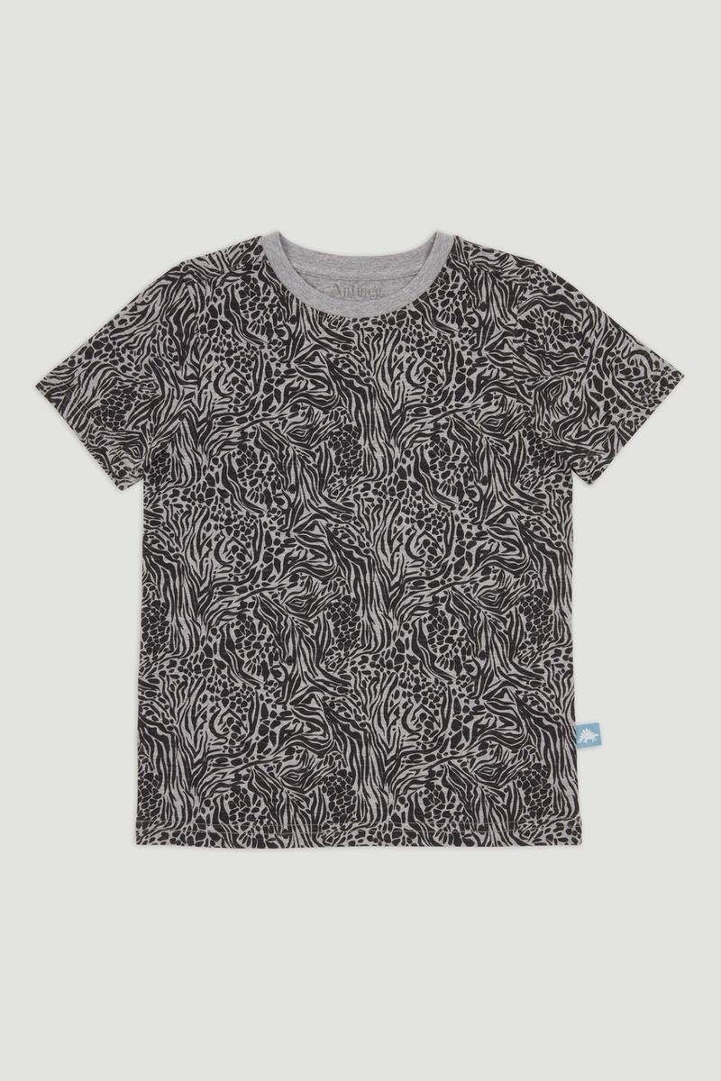 Grey Zebra T-Shirt