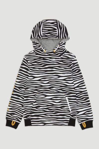 Zebra Overhead Hoodie