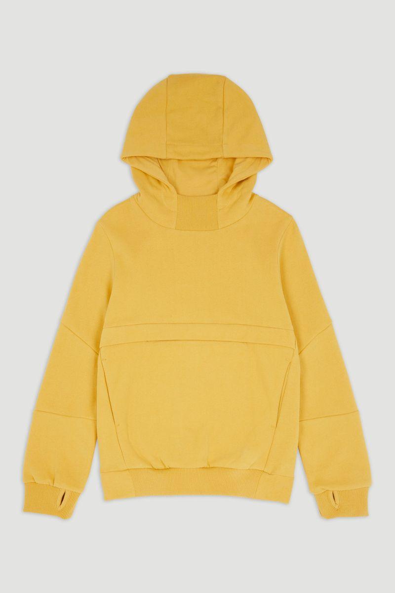 Yellow Pocket Hoodie