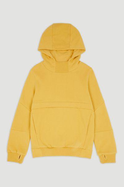 Yellow Overhead Hoodie