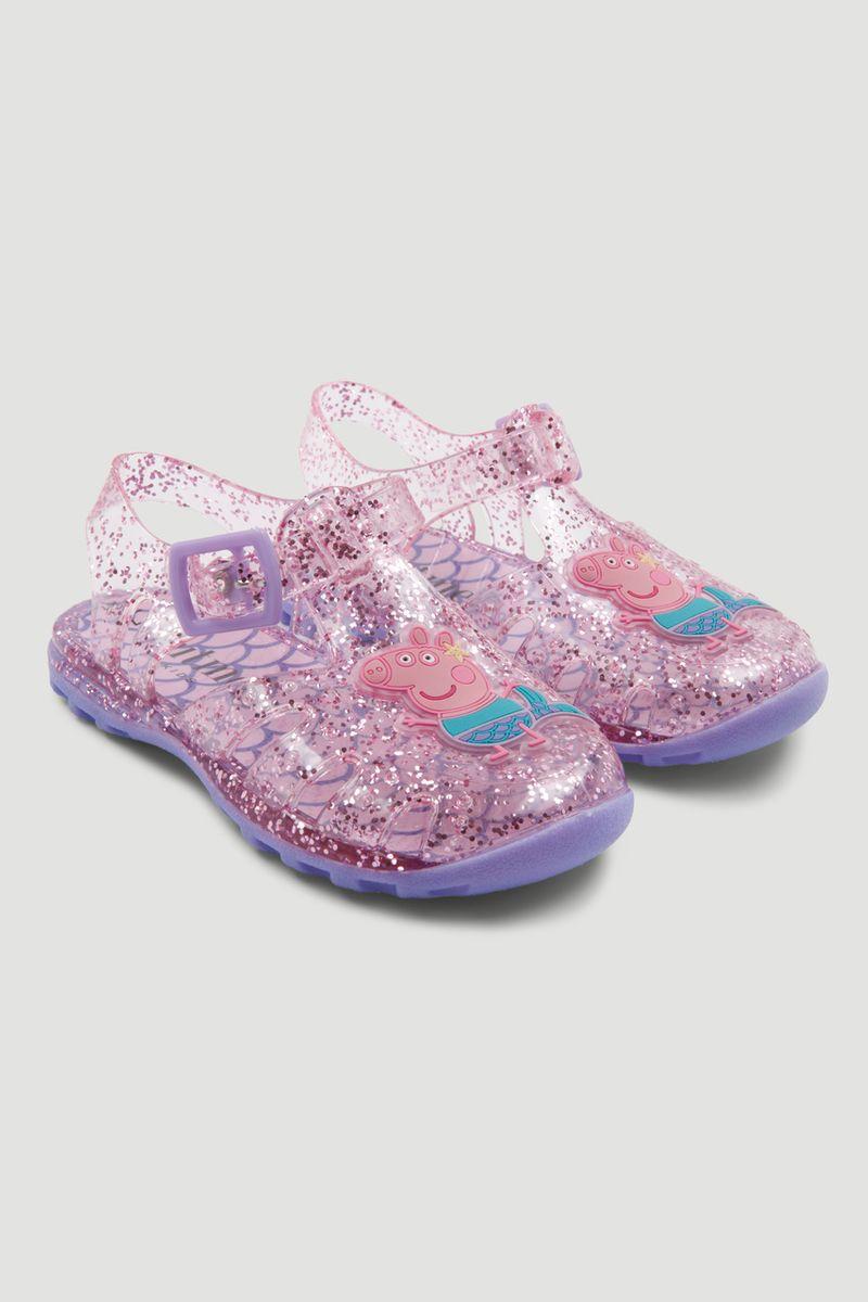 Peppa Pig Jelly Glitter Sandal
