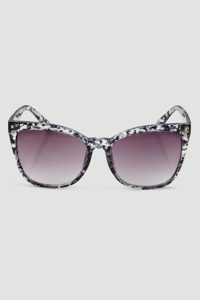 Black & White Printed Sunglasses