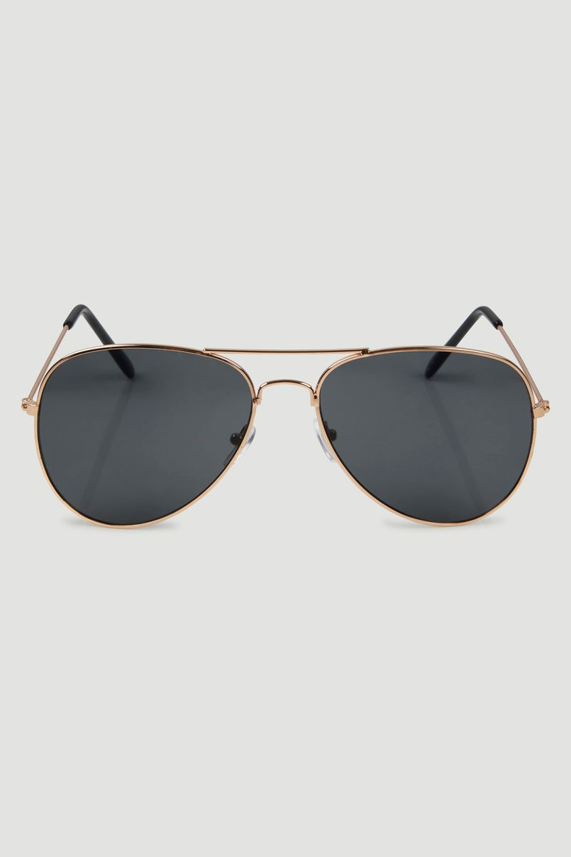 Gold Framed Sunglasses