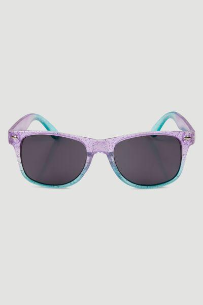 Ombre Glitter Sunglasses