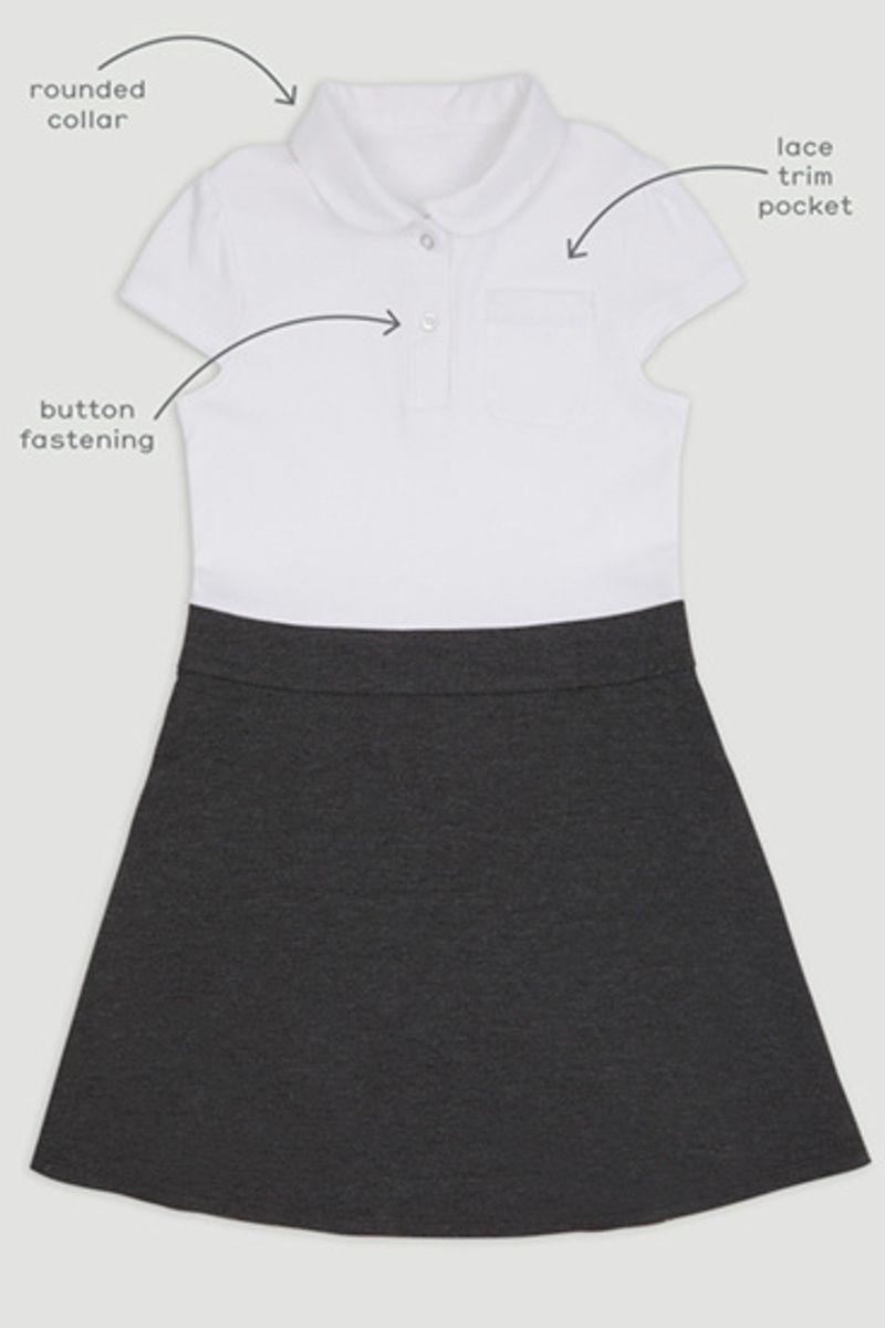 Jersey Polo Dress