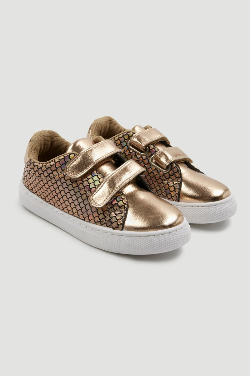 Metallic Mermaid Trainers