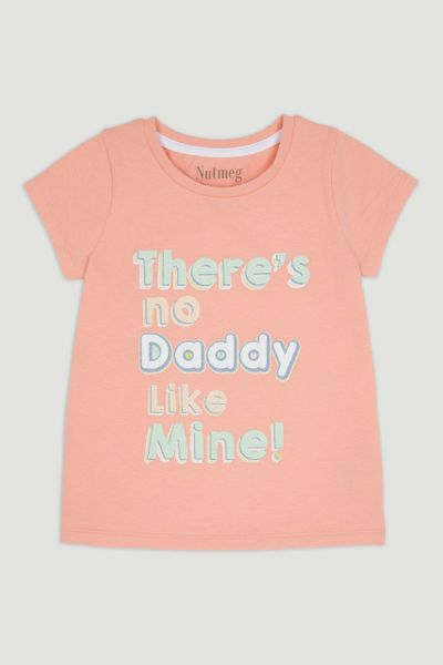 Pink Daddy Slogan T-Shirt