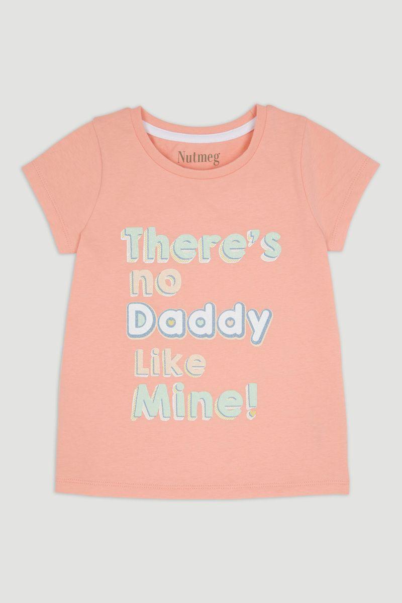 Pink Daddy Slogan T-Shirt