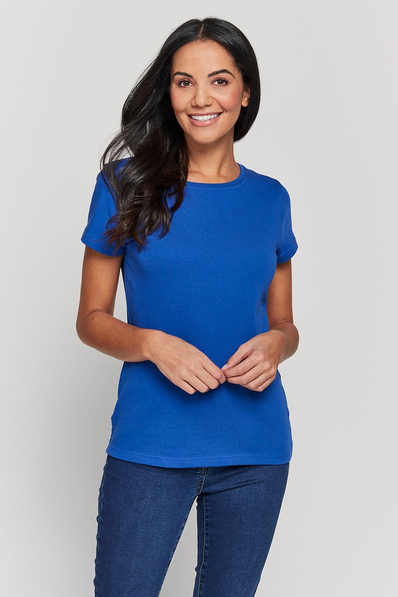 Cobalt Fitted Top