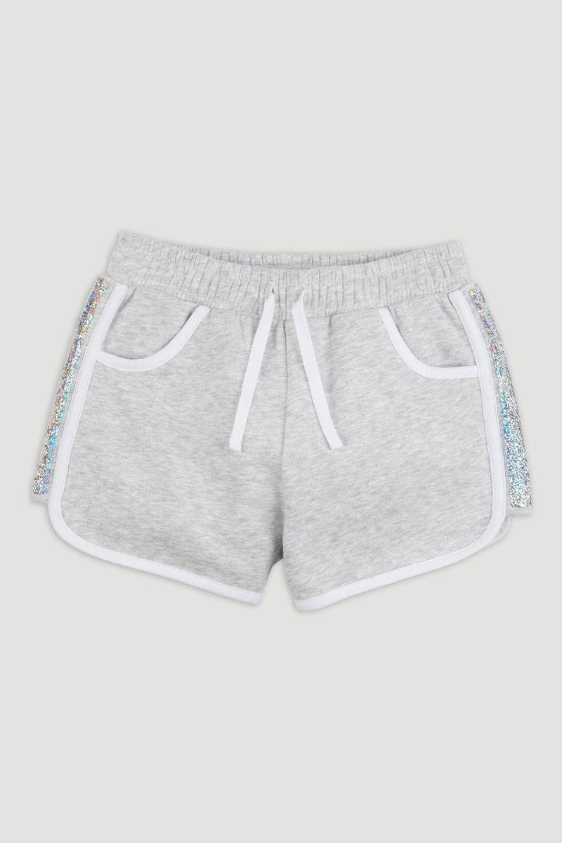 Sequin Sporty Sweat Short