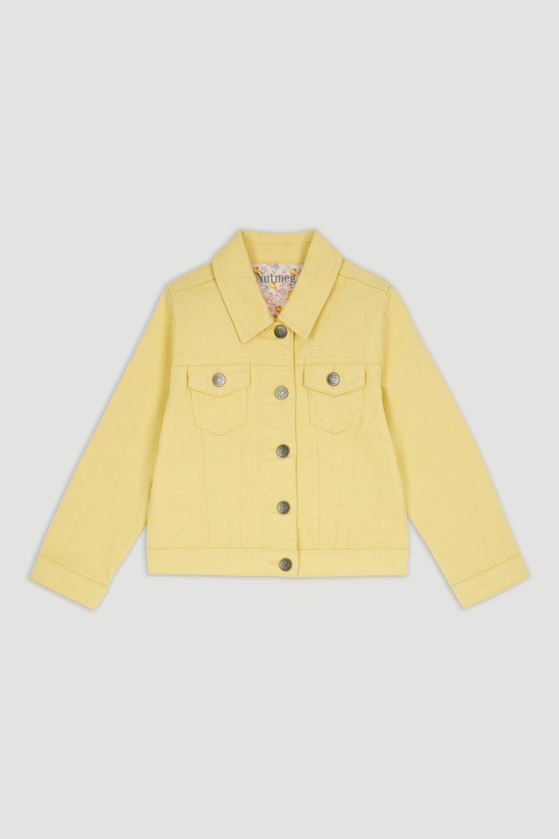 Yellow Denim Jacket