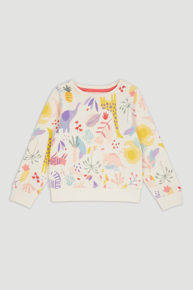 Safari Print Sweatshirt
