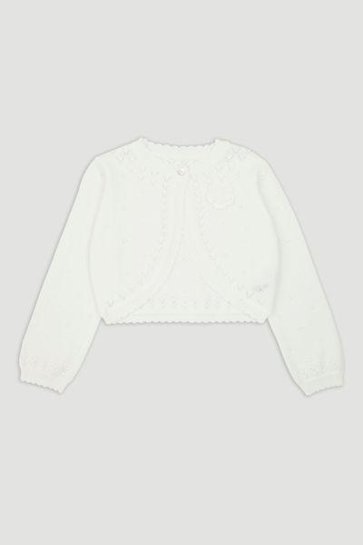 White Bolero Cardigan