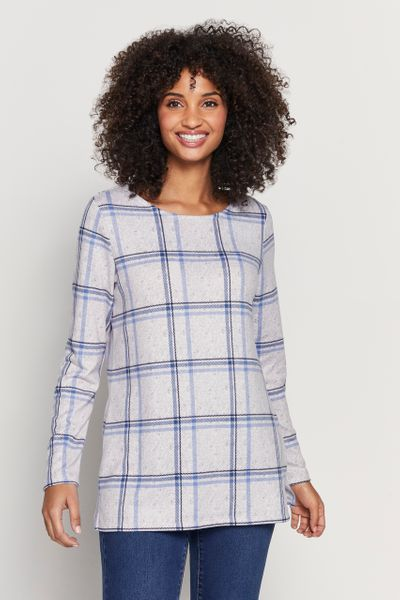 Blue Check Tunic