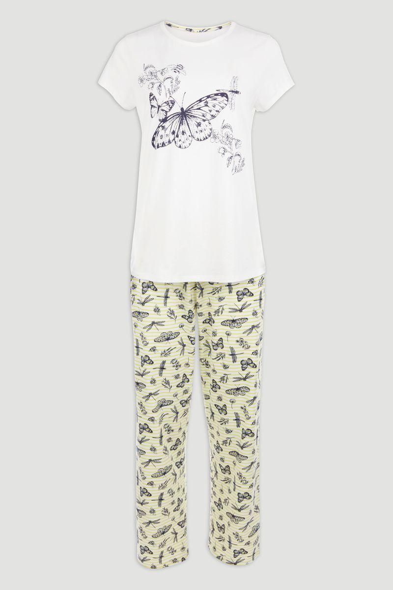 Butterfly Print Pyjamas