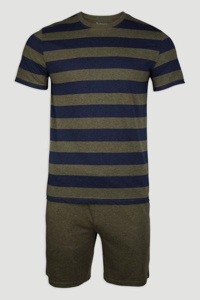 Khaki Stripe Pyjamas
