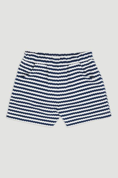 Stripe Print Shorts