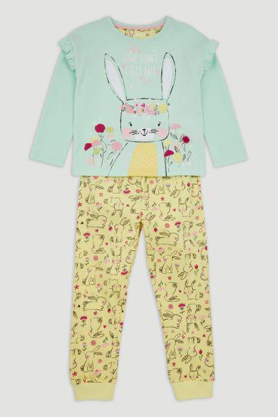 Glitter Bunny Pyjamas