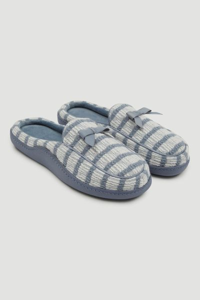 Stripe Comfort Slippers