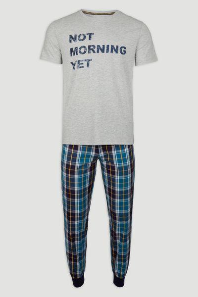 Not Morning Yet Slogan Pyjamas