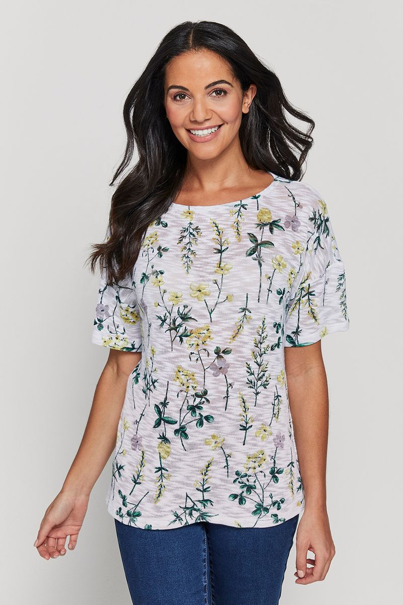 Loose Fitted Floral Top