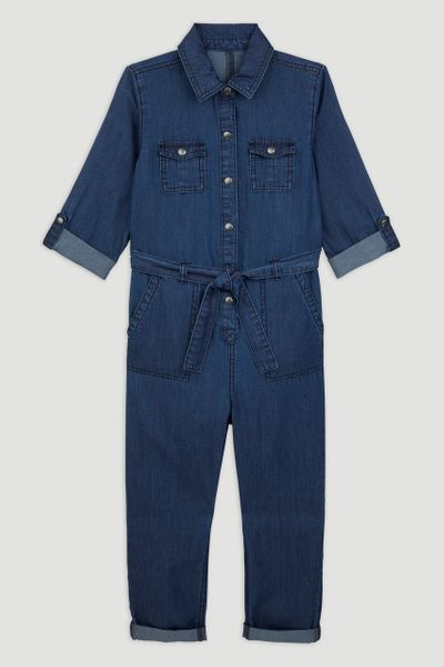 Blue Denim Wash  Boilersuit