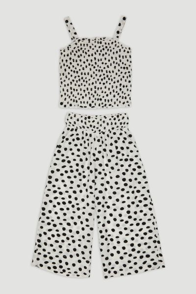 Polka Dot Co-ord Set