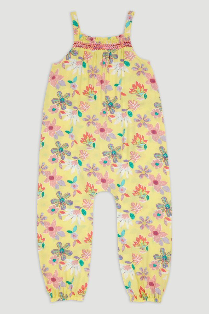 Flower Print Jumpsuit