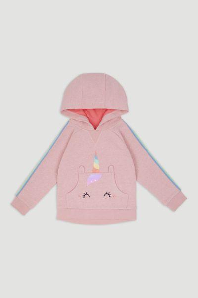 Pink Unicorn Sequin Hoodie