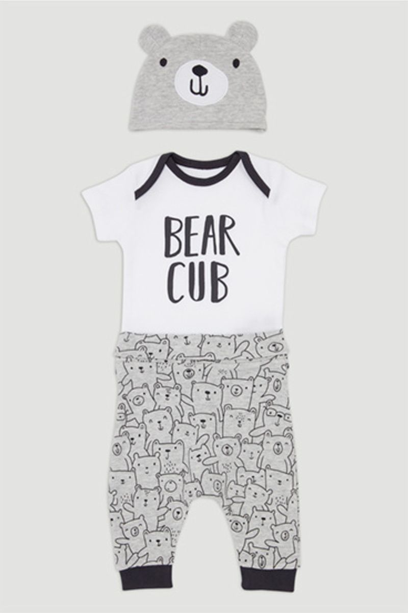 3 Piece Bear Set
