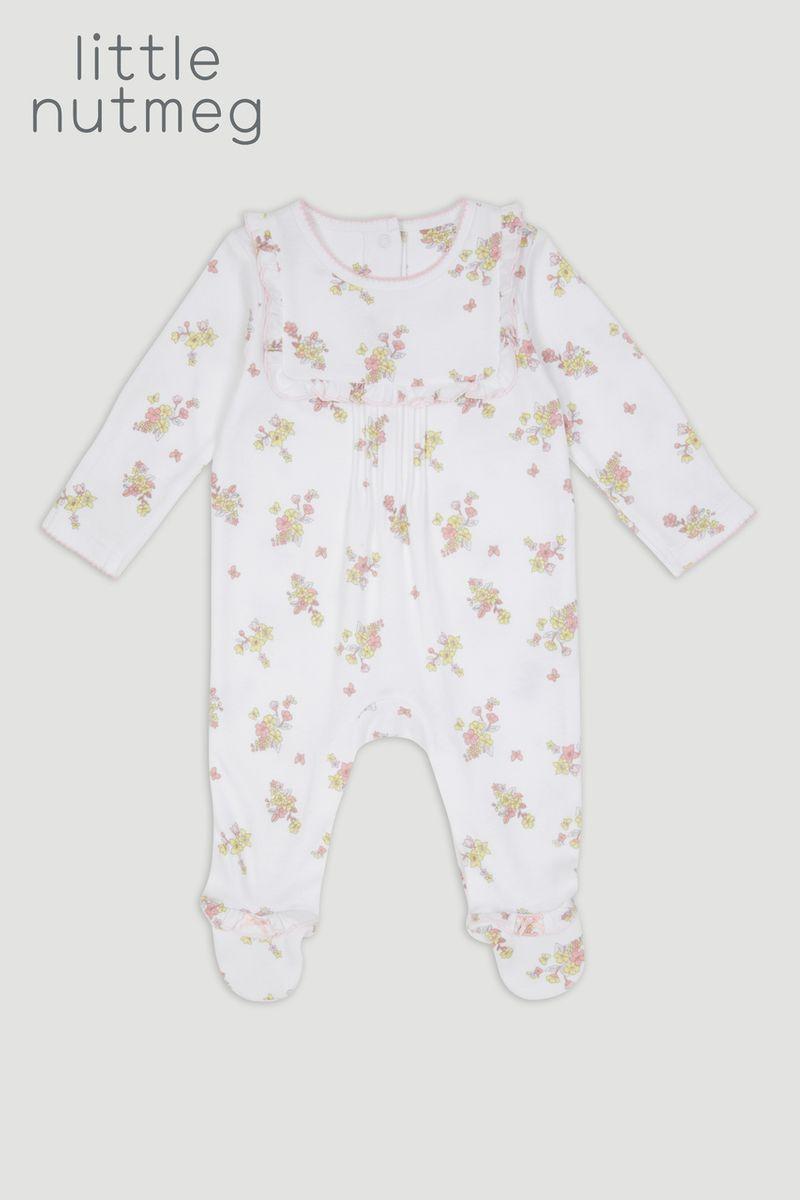 Little Nutmeg Pink Sleepsuit