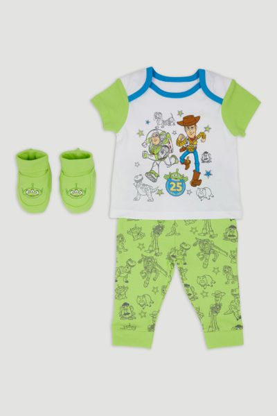 Disney Toy Story Woody Pyjamas & Booties