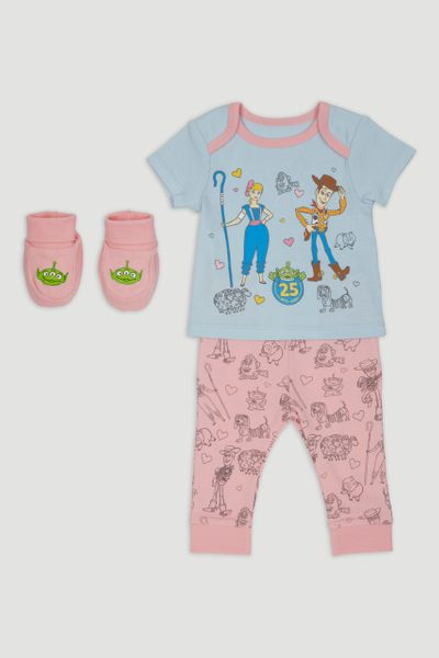 Disney Toy Story Bo Peep Pyjamas & Booties