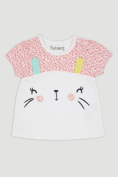 White Bunny T-Shirt