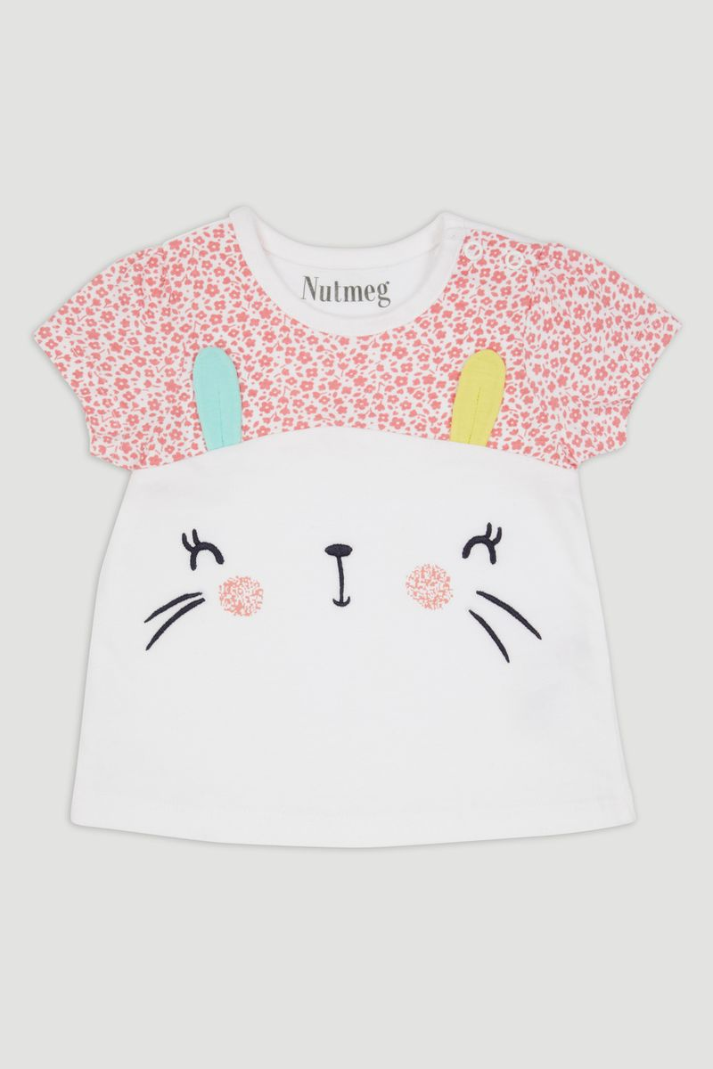 White Bunny T-Shirt
