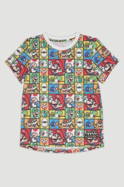 Nintendo Super Mario Comic T-Shirt