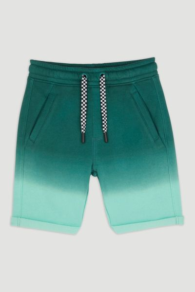 Green Ombre Sweat Shorts 1-14yrs