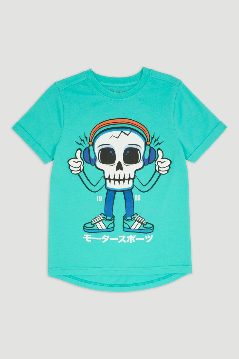 Green Skull T-Shirt