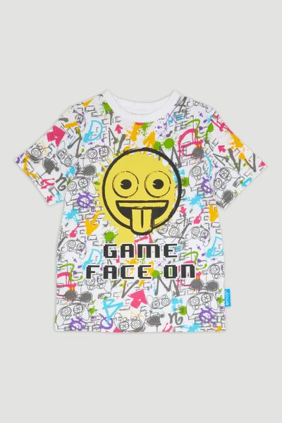 Graffiti Print T-Shirt