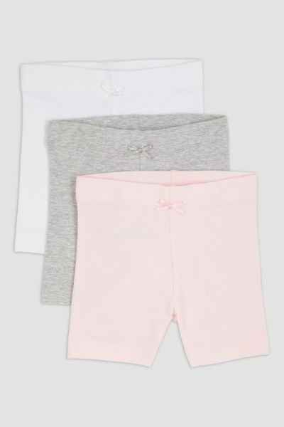 3 Pack Pink Jersey Shorts
