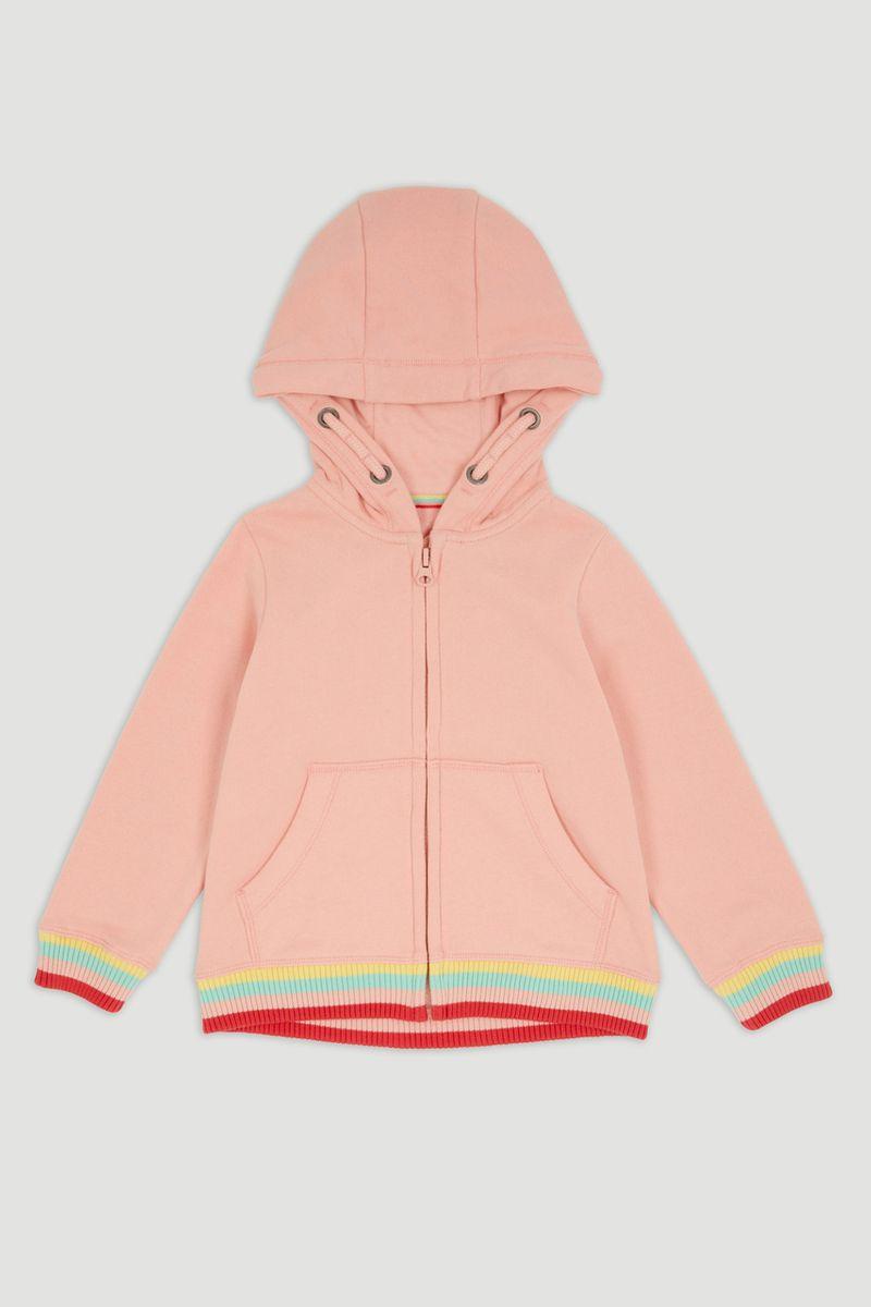 Pink Rainbow Hoodie